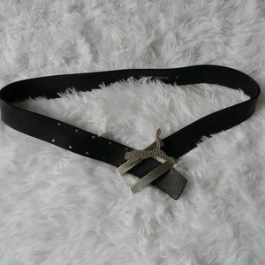 Puma Accessories - Jeweled Puma Leather Belt